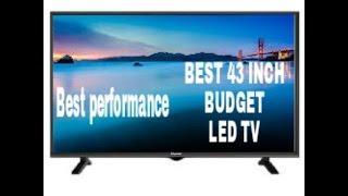 Best led TV 43 inches bugdet FULL HD LED TV under 35 k , Panasonic 109cm (43) Full HD LED TV