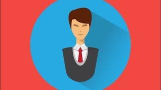 Видеоуроки Adobe Illustrator  Как нарисовать иконку пользователя