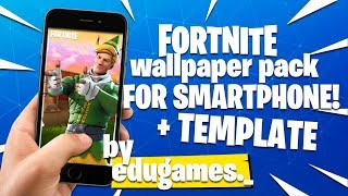Free! Pack of Wallpapers for CELULAR! (from Fortnite)