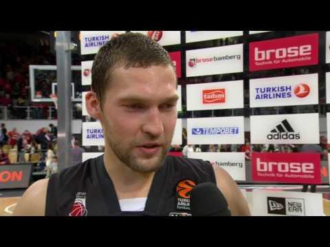 Post-game interview: Janis Strelnieks, Brose Bamberg