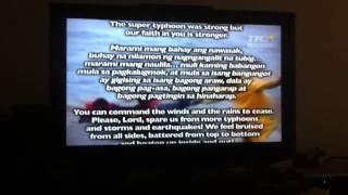 National Prayer for The Philippines (Yolanda Typhoon)