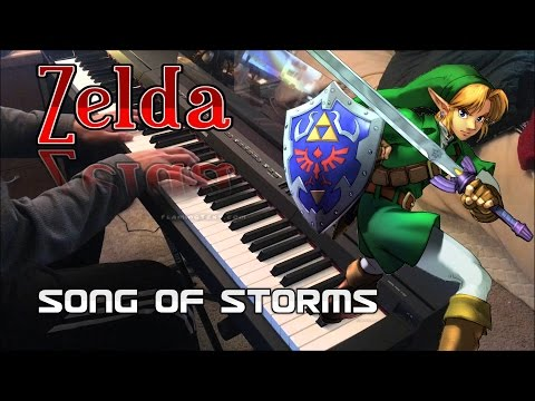 Zelda - Song of Storms (Mad Waltz Fantasy Ver.) Piano