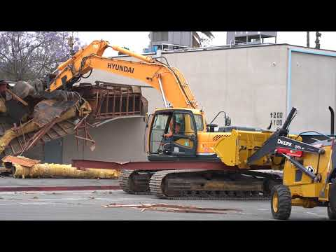 Villa Park High School Building Demolition