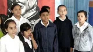 Coro de la Unidad Educativa Bolivariana Alianza.