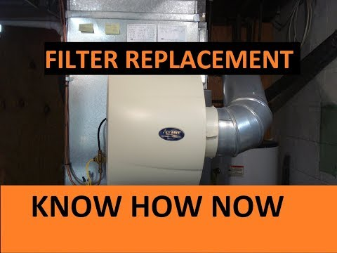 How to Change Aprilaire Humidifier Filter Model 600