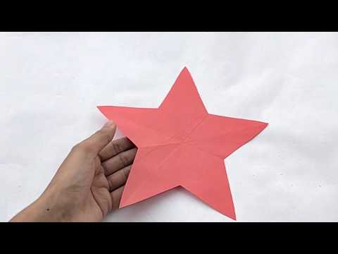 How To Make Simple & Easy Paper Star | DIY Paper Craft Ideas