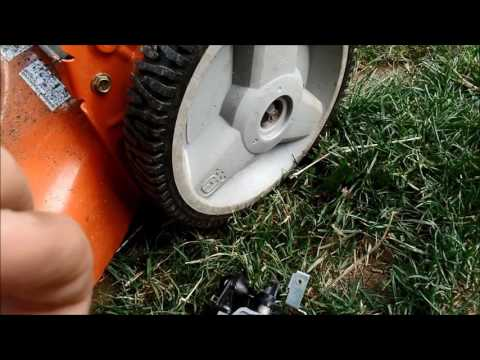 Husqvarna 6021P Surging Kohler Engine erratic Idle