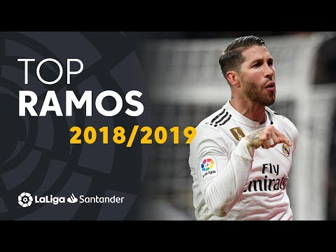 TOP Moments Sergio Ramos LaLiga Santander 2018/2019