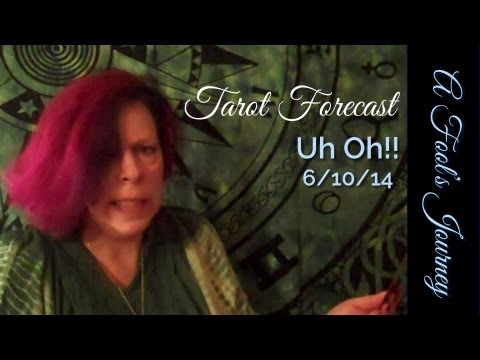Forecast 6/10/13: Uh Oh!! Tarot Death Card, Dixie Vogel, A Fool's Journey