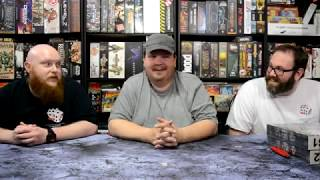 Shadows of Brimstone Forbidden Fortress Kickstarter Exclusives Unboxing