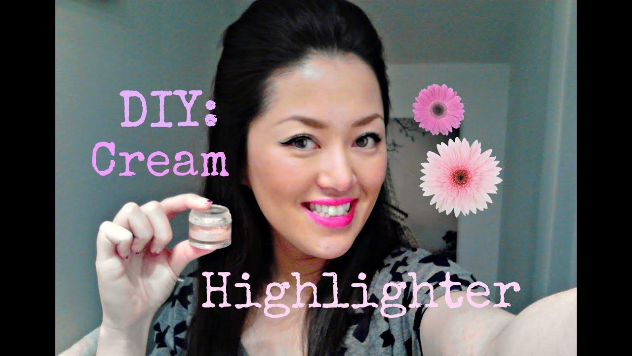 Diy Makeup Cream Highlighter Illuminator Youtube