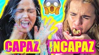 CAPAZ O INCAPAZ?! RETOS EXTREMOS en Madrid, España ft Marina Yers thumbnail