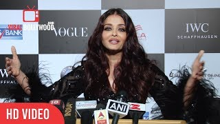 Aishwarya Rai Bachchan talk about Upcoming Movie Fanney Khan with Anil Kapoor