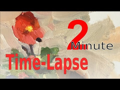 Oil Painting Time Lapse Demonstration By Scott Ruthven