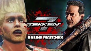 THIS PERFECT FELT AMAZING - Negan: Tekken 7 | Online Matches