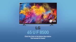 LG 65UF8500 4K UHD Smart LED TV - 65