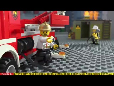 [LEGO NEW!] LEGO CITY Fire 2016 - YouTube