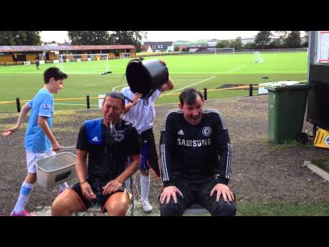 Morris & Andy in the Ice Bucket Challenge