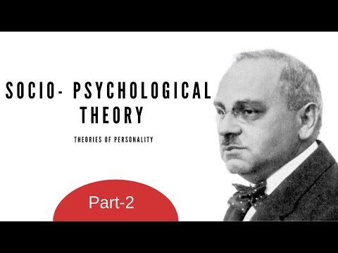 Theories of Personality: Socio psychological Theory- Part 2(Hindi)- M.COM, NET/SET
