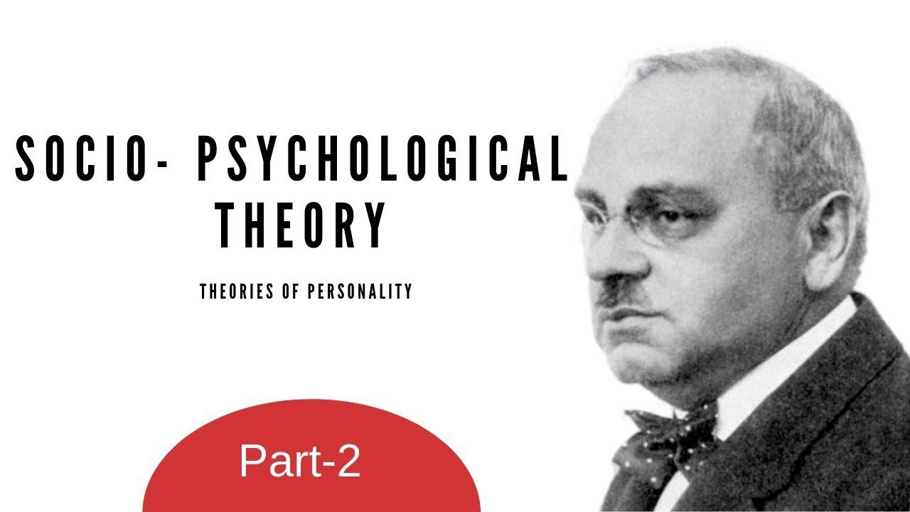 socio psychological theory