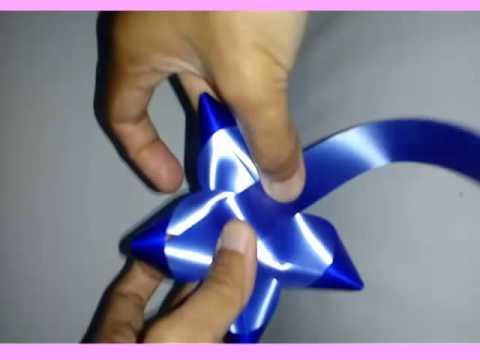Membuat Pita Bintang Dari Pita Jepang Youtube