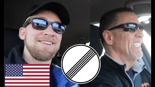 My Dad DRIVES on GERMAN AUTOBAHN + EATS GERMAN FOOD!!