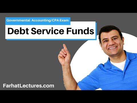 Debt Service Funds | CPA exam FAR | Governmental Accounting