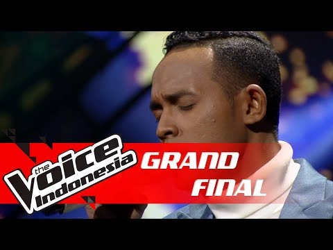 Aldo - Terjebak Nostalgia (Raisa) | GRAND FINAL | The Voice Indonesia GTV 2018