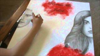 Romeo and Juliet Poster: Drawing Romeo