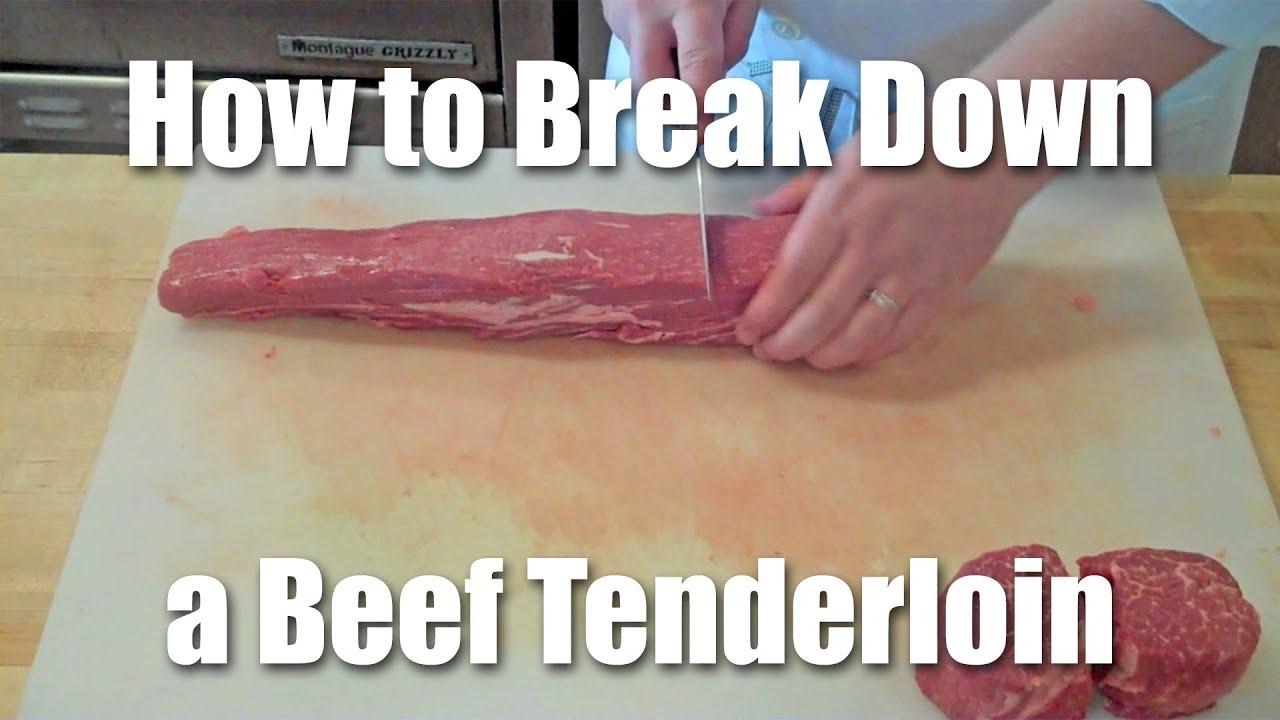 Download How To Butcher A Beef Tenderloin