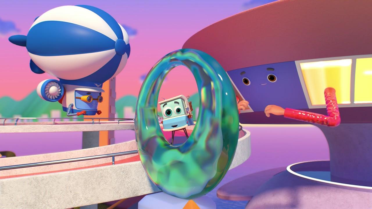 Домики - Музей современного искусства - Серия 64 | новый мультфильм о путешествиях для детей