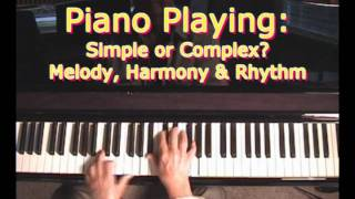 The 3 Basic Elements Of Music: Melody, Rhythm & Harmony