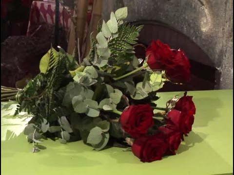 C mo fabricar un ramo de flores para tu pareja youtube - Como secar un ramo de rosas ...