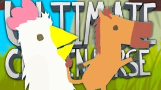 BE A D**K TO YOUR FRIENDS!! | Ultimate Chicken Horse #1