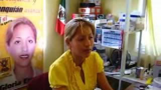 Entrevista a la lic. Gloria Emma candidata a la presidencia municipal por el PRD TANQUIAN TANQUIAN