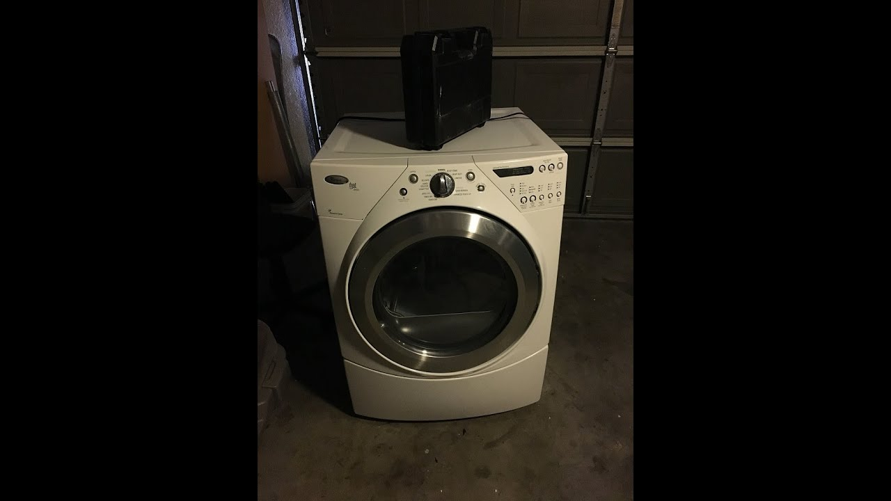 Whirlpool Duet Gas Dryer F70 Code Fix P# W10279773