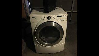 whirlpool duet gas dryer f70 code fix