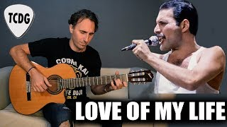 QUEEN -  Love of My Life en Guitarra Acústica