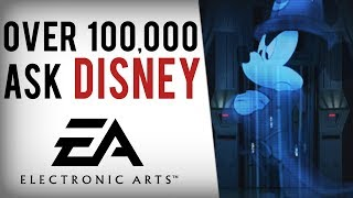 Over 100,000 Request Disney CANCEL EA