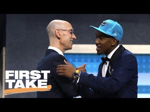 Kentucky's Malik Monk A Miss For Knicks? | First Take | June 23, 2017