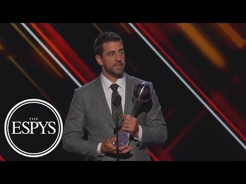 Aaron Rodgers To Jared Cook Wins Best Play | The ESPYS | ESPN