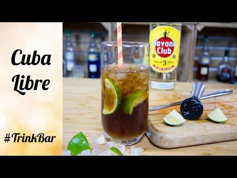 Cuba Libre  - Cocktail - Rezept - Trinkbar