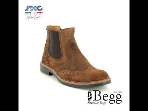 IMAC Calling Chelsea 0851-78061017 Tan suede Chelsea Boots