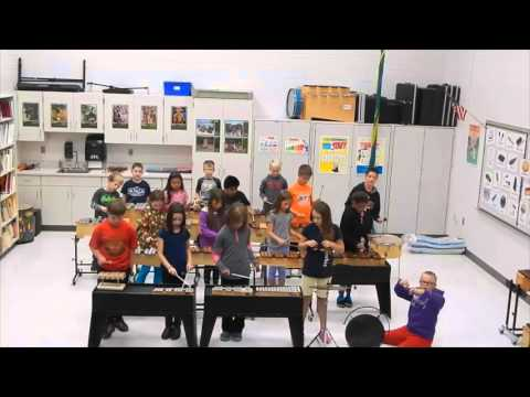 Mitchell's 3rd Graders - Musical piece based on
