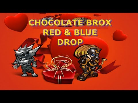 🔴MU ONLINE | CHOCOLATE BOX RED AND BLUE DROP