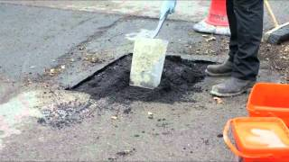 Repair Potholes Permanently with Ultracrete Permanent Pothole Repair