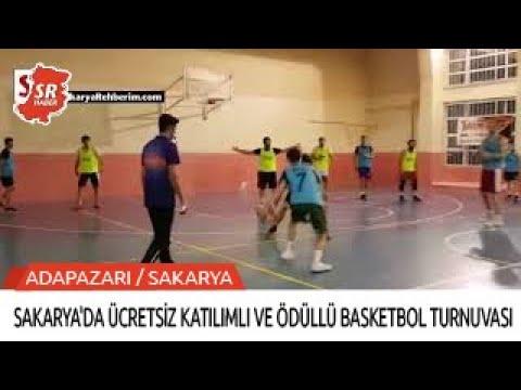 Sakarya'da ücretsiz katılımlı ve ödüllü basketbol turnuvası