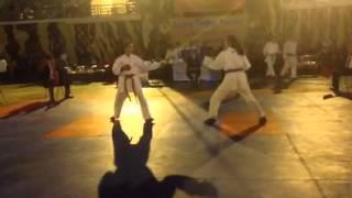 FINAL KEJURDA INKAI 20 September 2015 - Kumite Junior Putri -63 kg