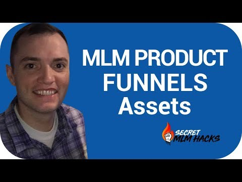 MLM Product Funnels: Assets