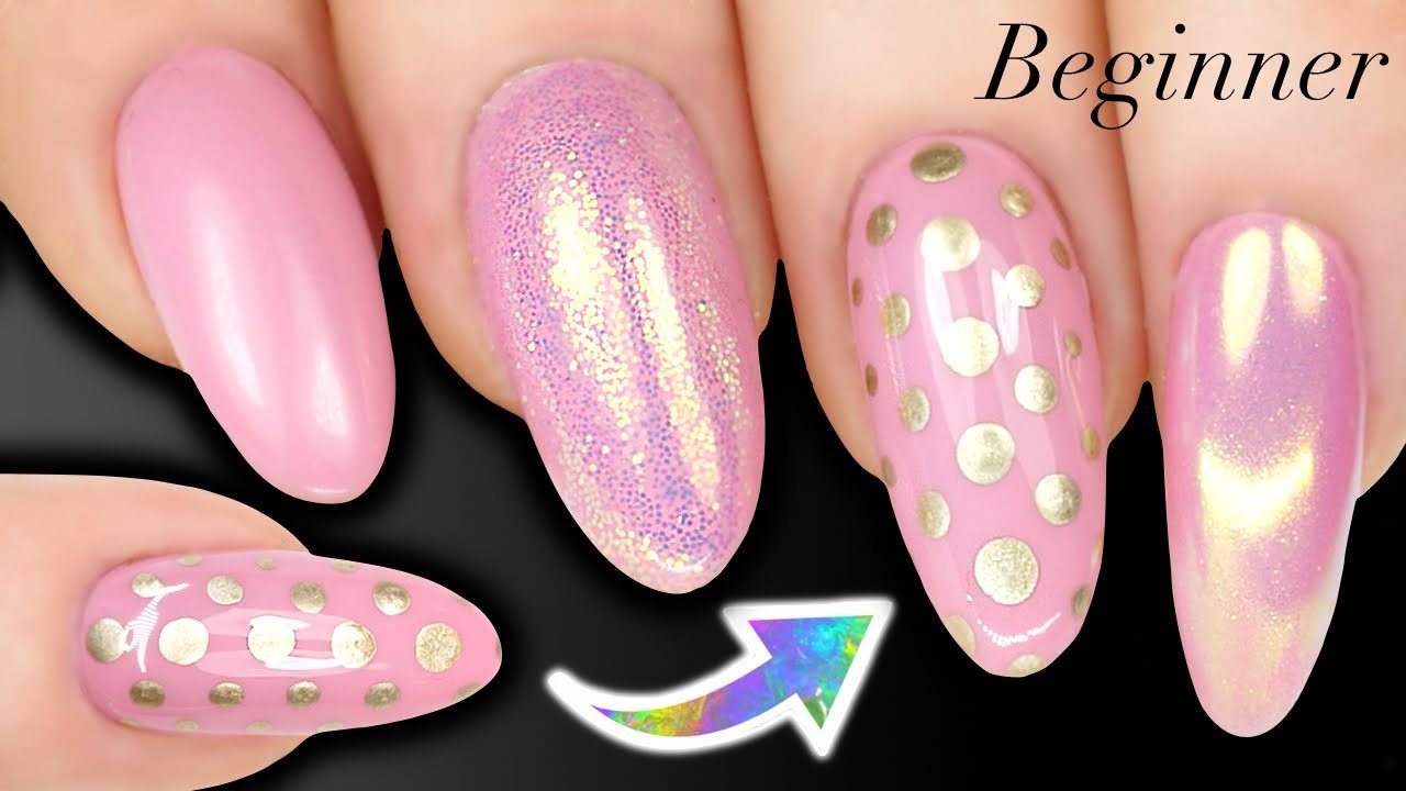 How To Paint Perfect Polka Dots Nail Art For Beginner Spots